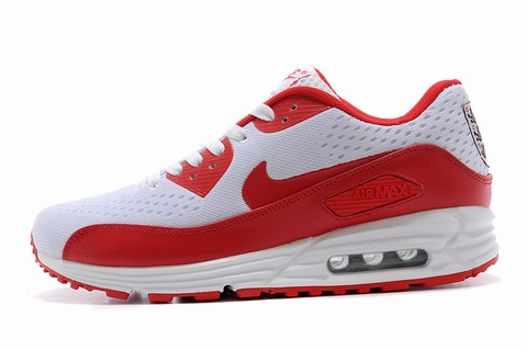 Nike Air Max 90 Essential Grise Et Orange Basket Femme