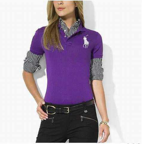 polo Boutique Lauren Ralph Manche Longue Polo I6mbf7vYgy